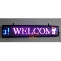 15 Inch, 3000LBS LED Moving Message Signs Display Board