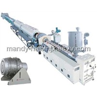 16-630mm Plastic PE pipe extrusion line
