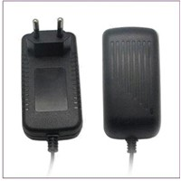 18W AC/DC Adapter with UK Plug and 12V/1.5A Output, Sized 74.0 x 41.0 x 47.5mm, CE-/FCC-/RoHS-marked
