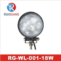 "4.6"" 18W IP67 LED Work Light, for off-Road Auto Truck Driving Lamp (RG-WL-001)"