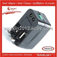 2012 HOT SALE Universal Travel Plug Adapter(NT002)