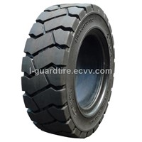 250-15 Solid Tire for Locking Rim