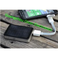 2800mAh Solar power bank battery charger