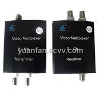 2-Channel Video Transmission for CCTV Security System with One Coaxial Cable(YF-SF200)