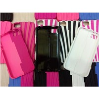 2 parts durable transformers plastic case for iphone 4g 4s