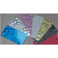 3D diamond screen protector film screen guard for 4S i phone Mobile accessory