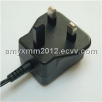 3V/1.5A AC/DC Switching Power Supply with 5W output power/ 5% to 95% RH Operating Relative Humidity