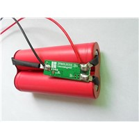 3.6V Lithium Battery Pack with 18650 Cells