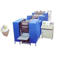 3.7 KW 5000pcs / h seasickness paper bags making machine quotation with display LCD
