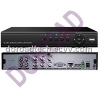 4CH Real Time (CIF+D1) Network DVR / Stanalone DVR