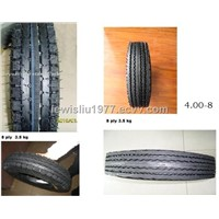 4.00-8 Motorcycle Tire and Tube