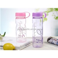 600ml/ 750ml plastic tritan drink bottle, sport bottle