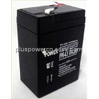 6V4.5AH emergency lights batteries