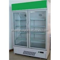 780L double door Display Cooler