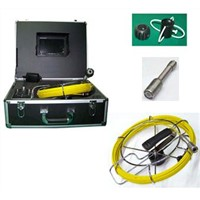7 Inch Color Monitor 20m Cable Pipe Inspection Camera System