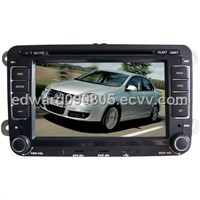 7 Inch car auto DVD player for Volkswagen Magotan with 8CD,USB,SD,FM,IPOD,BT,TV and GPS