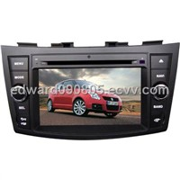 7 inch car GPS player for Suzuki swift with 8CD,TV,BT and IPHONE menu