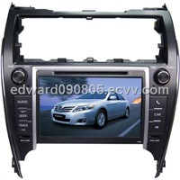 "8"" car multimedia DVD player for 2012 Model Toyota Camry with USB/SD/FM/TV/GPS"