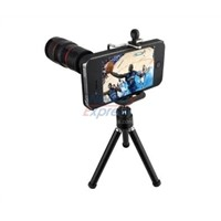8x Optical Zoom Telescope Focal Lens with Tripod Attachment for iPhone