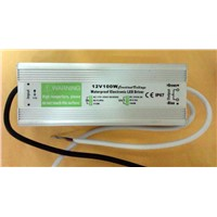 96W LED driver power supply IP67 waterproof outdoor
