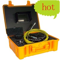 ABS case 40M Cable Sewer Pipe Drain Pipe Wall Inspection Camera