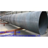 ASTM A252 spirally welded pipe