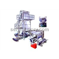 A+B+C Three layer co-extrusion blowing film machine