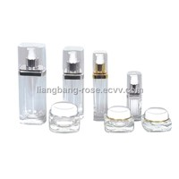 Acrylic Clear Skincare Jar Of Plastic Cosmetic Container