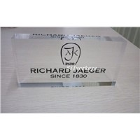 Acrylic Brand Name Trade Mark and Company LOGO Stand