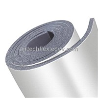 Airflex-clad NBR/PVC rubber thermal insulation tube and sheet