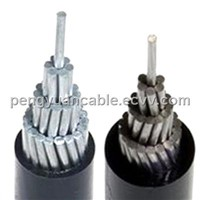Aluminum Conductor XLPE insulated overhead power cable