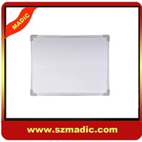 Aluminum Framed Magnetic Whiteboard with ABS corner
