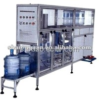 Auto 3-6gallon barrel water filling machine