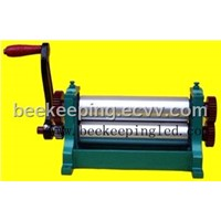 Beeswax stamping machine