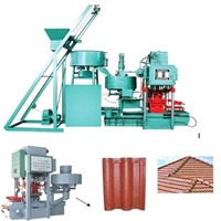 Best price roof tile making machine0086-13643842763