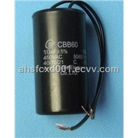 CBB60 Self-healing Capacitor for Family Washing Machine