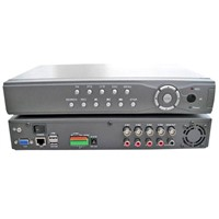 CCTV DVR System with 8CH video inputs and 4CH audio inputs  (JYD-D818HV)