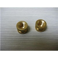 CNC machining Nuts with High Precision and internal thread Customized Shapes are Accepted