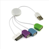 Cable for usb and iphone connector BOLUSI-90I