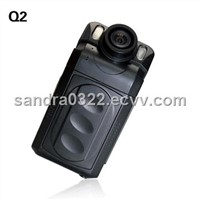 Cameras Car Recorder with High-capacity Lithium-ion Rechargeable Battery and 4x Digital Zoom F880/Q2