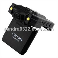 Car Black box with 720P HD video resolution, 2.4inch LTPS TFT LCD and 4 X digital zoom P5000B