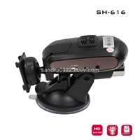 Car Radar Detector with 1/4-color CMOS Sensor SH616