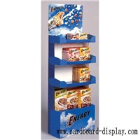 Cardboard Display Rack For food, breakfast, Oatmeal
