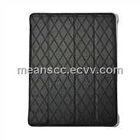 Case for iPad 3G, Made of PU, Smart Design with Stand, Different Viewing Angles,Switch Sensor