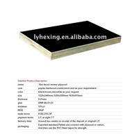 Construction materials-film faced plywood