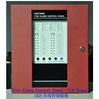 Conventional Fire Alarm Control Panel Master Panel Host with Sixteen Zones for Fire Alarm System