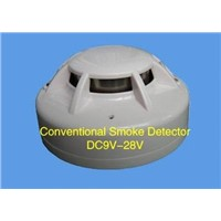 24VDC 2-Wire Conventional Photoelectric Smoke & Heat Detector Sensor Alarm Multi Detector