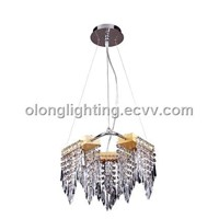 Crystal Chandelier Pendant Light, Suitable for Home, Mall and Hotel Decorations