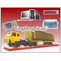 Digital electronic truck scale,vehicle scale from YingHeng Weighing Scale China