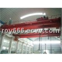 Double Girder Traveling Overhead Bridge Crane